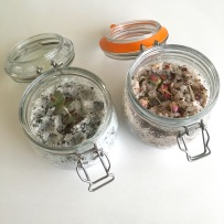 Home made body scrubs