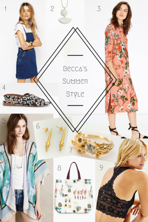Becca's Summer Style | Bugs & Birds