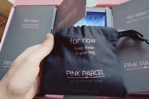For your bag Pink Parcel