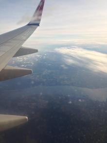 Flying into Stockholm Arlanda