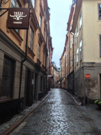 Beautiful streets in Old Town