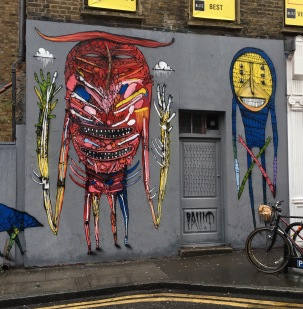 Street art Shoreditch brick lane