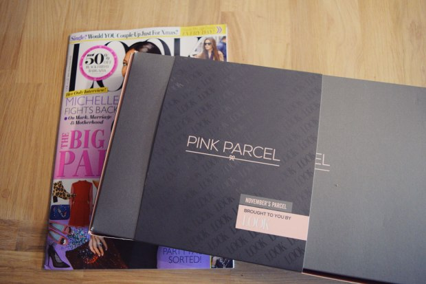 Pink Parcel Box with Look Magazine