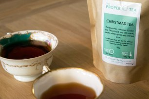 Trying Christmas Tea Blends