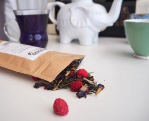 Bluebird tea co blue raspberry