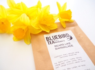 Bluebird tea co Spring tea