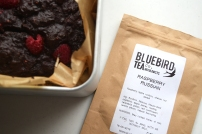Vegan Raspberry Russian Brownies -baking with tea