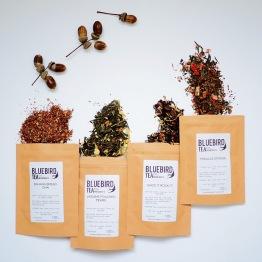 Bluebird tea co autumn collection