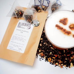 Bluebird tea co autumn collection