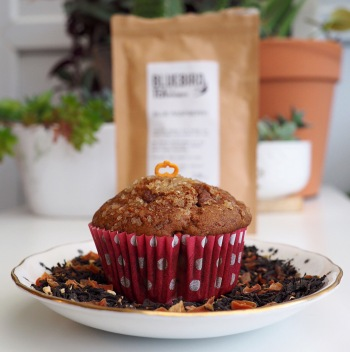 Vegan Pumpkin Spiced Banana and Chocolate Muffins
