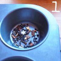 Tea bath bombs