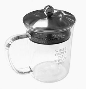 leaf teapot