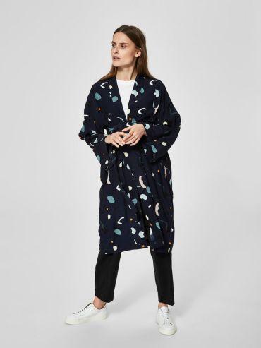 Selected print kimono