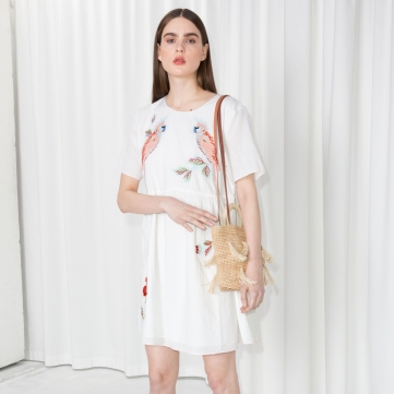 Other Stories Embroidered Dress
